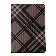 Na Z podpórką Auto uśpienie/włączenie Flip Kılıf Futerał Kılıf Linie / fale Twarde Skóra PU na Apple iPad (2017) iPad Pro 9.7 ''