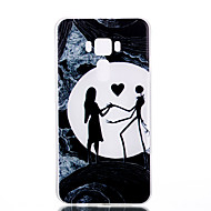 Για Λάμπει στο σκοτάδι Παγωμένη Ημιδιαφανές Με σχέδια tok Πίσω Κάλυμμα tok Καρδιά Μαλακή TPU για AsusAsus ZenFone 3 (ZE552KL)(5.5) Asus