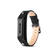 pinhen for Fitbit flex 2 læder strop FLEX2 justerbar udskiftning læder søvn armbånd med hægter til Fitbit flex 2