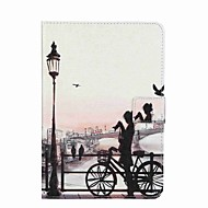 Για Θήκες Καλύμματα Πορτοφόλι Θήκη καρτών με βάση στήριξης Ανοιγόμενη Με σχέδια Πλήρης κάλυψη tok Θέα στην πόλη Σκληρή PU Δέρμα για Apple