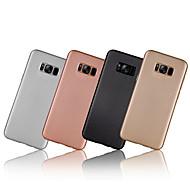 Για Επιμεταλλωμένη Εξαιρετικά λεπτή tok Πίσω Κάλυμμα tok Μονόχρωμη Μαλακή Ανθρακονήματα για Samsung S8 S8 Plus