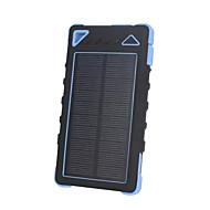 8000mAhmAhgüç banka harici pil Güneş Enerjili Fener 8000mAh 1000mA Güneş Enerjili Fener