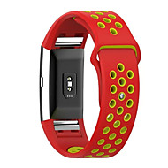 voor Fitbit lading 2 zachte siliconen vervanging sport band lusband