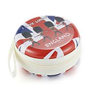 Fidget hånd spinner finger taske british vind metal hovedtelefon universal case