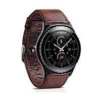 For Gear S3 Frontier Classic Strap Retro Genuine Leather Band With Closure Classic Design Replacement 22mm
