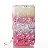 Samsung galaxy a5 (2017) a3 (2017) efekt efektów 3D wzorzec pu materiał portfel telefon komórkowy przypadku a510 a310