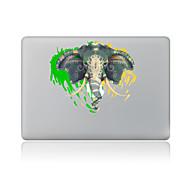 1 stk Ridsnings-Sikker Elefant Transparent plastik Klistermærke Mønster ForMacBook Pro 15'' with Retina MacBook Pro 15 '' MacBook Pro