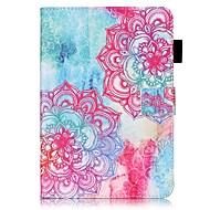Varten kotelot kuoret Lomapkko Korttikotelo Tuella Flip Kuvio Kokonaan peittävä Etui Mandala Kova PU-nahka varten AppleiPad Mini 4 iPad