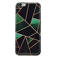 For IMD Mønster Etui Bagcover Etui Marmor Blødt TPU for AppleiPhone 7 Plus iPhone 7 iPhone 6s Plus iPhone 6 Plus iPhone 6s iPhone 6