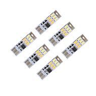 brelong調光USB 3w 6x5730夜光タッチスイッチタッチデュアルライトカラー(dc5v)6個