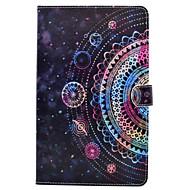 Voor Samsung Galaxy Tab t580 t530 pu leren materiaal Astrolabe patroon beschilderd vlak beschermhoes t550 t560 t280 t350
