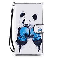 Varten kotelot kuoret Lomapkko Korttikotelo Tuella Flip Kuvio Magneetti Kokonaan peittävä Etui Eläin Kova Tekonahka varten HuaweiHuawei