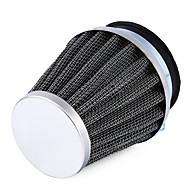 Ziqiao biltillbehör luftfilter högkvalitativt järn och starkt smidigt gummi universal 1st 54mm svamp huvud motorcykel luftfilter