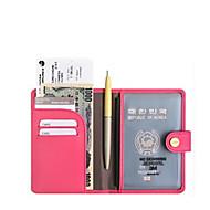 1 개 여권 지갑& ID홀더 방수 휴대용 수화물 악세사리 TSA/항공 승인 RFID-블러킹 용 남여 공용 방수 휴대용 수화물 악세사리 TSA/항공 승인 RFID-블러킹 커피 블루 핑크 밝은 핑크 다크 그린