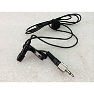 Professional Lavalier Lapel Stereo Cardioid Condenser Microphone for Wireless BodyPack Transmitter 3.5 mm Lockable