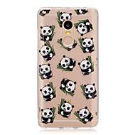 Til xiaomi redmi note 4 note 3 3s case cover panda mønster bagcover soft tpu redmi note