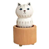 Zenedoboz Cat Ünnepi tartozékok Gumi Fa Uniszex