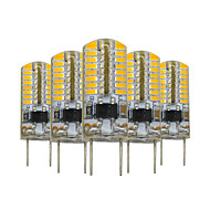 3W G8 Luci LED Bi-pin T 64 SMD 3014 200-300 lm Bianco caldo Intensità regolabile Decorativo V 5 pezzi