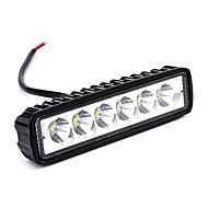 Ziqiao 2pcs 6 inch 18w led werklicht voor indicatoren motorfiets rijden offroad boot auto trekker vrachtwagen 4x4 suv atv 12v