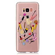 For IMD Transparent Mønster Etui Bagcover Etui Sexet kvinde Blødt TPU for Samsung S8 S8 Plus S5 Mini S4 Mini