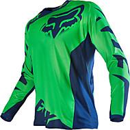 Räv motorcykel off-road t-shirt långärmad ridning kostym hastighet av utomhus sport fritidskläder