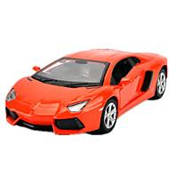 Pojazd nakręcany od tyłu Zabawki Model / klocki Samochód Metal