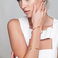 Pentru femei Brățări cu Lanț & Legături Ring Bracelets Bijuterii La modă Articole de ceramică Auriu Argintiu Bijuterii PentruPetrecere