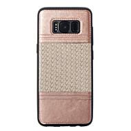 Varten Pinnoitus Koristeltu Kuvio Etui Takakuori Etui Linjat / aallot Pehmeä TPU varten Samsung S8 S8 Plus S7 edge S7 S6 edge S6