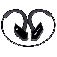 Fone de ouvido hyundai para esportes fitness orelha gancho bluetooth v4.1 com controle de volume de microfone e cancelamento de ruído