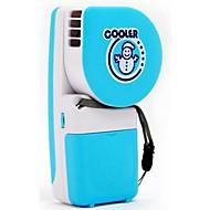 Creative handheld mini aer condiționat ventilator om de zăpadă usb baterii portabile de refrigerare elevi copiii frunze mic ventilator