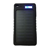 lcd-8000 8000mah lcd 5v1a 태양 열 충전기와 방수 전원 은행 휴대 전화