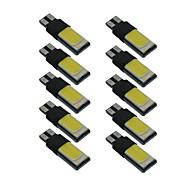 10db t10 csutka szélessége lámpa W5W 6000K canbus autó belső világítás dc9-12v