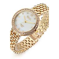 Dames Dress horloge Modieus horloge Polshorloge Armbandhorloge Kwarts / imitatie Diamond Roestvrij staal BandCool Vrijetijdsschoenen