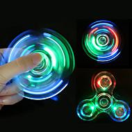 Fidget spinners Hilandero de mano Juguetes Tri-Spinner Metal EDCAlivio del estrés y la ansiedad Juguetes de oficina Por matar el tiempo