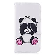 Samsung Galaxy a5 (2017) a3 (2017) burkolata panda mintás PU anyagból kártya stent pénztárca telefon esetében galaxis a5 (2016) a3 (2016)