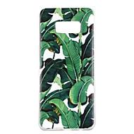 Na Etui Pokrowce Wzór Etui na tył Kılıf Drzewo Miękkie Poliuretan termoplastyczny na Samsung S8 S8 Plus S7 edge S7