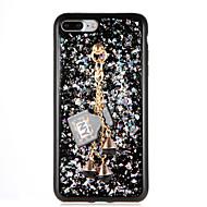 Til Apple iPhone 7 plus iPhone 7 iPhone 6s plus iPhone 6 plus iPhone 6s iPhone 6 Diy Taske Bag Cover Case Glitter Shine Soft TPU