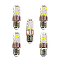9W LED-maissilamput T 60 SMD 2835 600-680 lm Lämmin valkoinen Valkoinen V 5