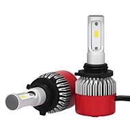 9006 36W / 2db led fényszóró készlet izzók chip 3600lm Philips LED autó fényszórókban átalakító készlet 9V-32V helyettesíti a