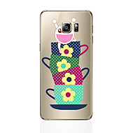 For Samsung Galaxy s8 s8 plus phone Case Transparent Pattern Cartoon Pattern Soft TPU For Samsung Galaxy S7 s6 edge plus s6 edge s6