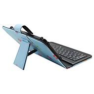 Til Etuier Med stativ Med keyboard Flip Mønster Heldækkende Etui Tegneserie Ugle Hårdt Kunstlæder for Apple Samsung HuaweiiPad Mini 4