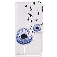 Taske til Samsung Galaxy Note 5 tilfælde dækker mælkebøtte mønster pu læder tasker
