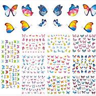1 아트 스티커 네일 3D 네일 스티커 메이크업 화장품 아트 디자인 네일
