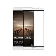Karkaistu lasi Näytönsuojat varten Huawei Huawei Mate 9 Näytönsuoja Teräväpiirto (HD) 9H kovuus 2,5D pyöristetty kulma