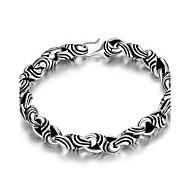 Muškarci Gipke i čvrste narukvice Jewelry Vintage Glina Geometric Shape Jewelry Za 1 paket