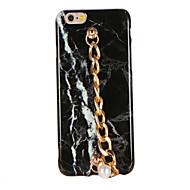 Til apple iphone 7 plus iphone 7 iphone 6s plus iphone 6 plus iphone 6s iphone 6 diy taske bag cover sag marmor blød tpu