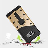 Voor Samsung Galaxy S8 plus s8 hoesje schokdicht met standaard 360 rotatie achterkant hoesje armor harde pc s7 rand s7 s6 rand plus s6