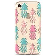 iPhone 7 7 plus 6s 6 plus suojus ananas malli maalattu suuri levinneisyys TPU materiaali laukku puhelinkotelo