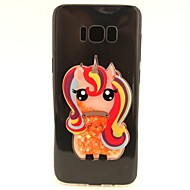 Til Samsung Galaxy S8 S8 Plus Case Cover Unicorn Flash Pulver Quicksand TPU Materiale Diy Telefon Case S7 S7 Kant