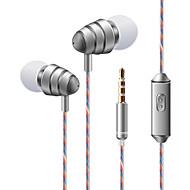 soyto KDK 204 Im Ohr Mit Kabel Kopfhörer Dynamisch Handy Kopfhörer Stereo Mit Mikrofon Mit Lautstärkeregelung Headset
